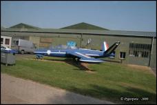 Fouga Magister à Creil (60)