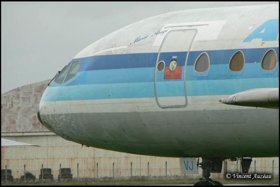"""Sud Est SE 210-275 """"Caravelle 12"""" F-GCVJ - Rennes / Saint Jacques de la Lande (35) -"""